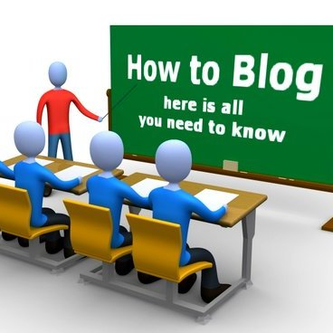 Blogging – it is this easy