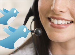 Use Twitter for customer services