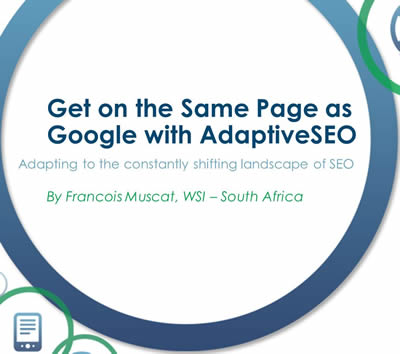 WSI's Free Webinar: Get on the Same Page as Google with Adaptive SEO
