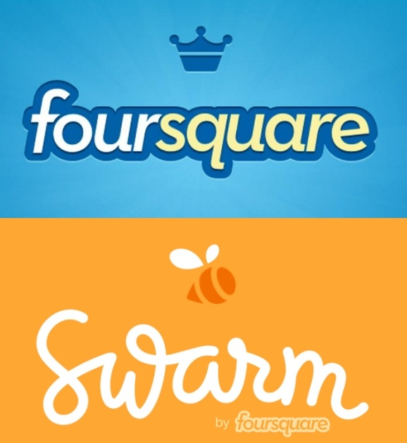 Foursquare is now Swarm – Changes for the geotagging app