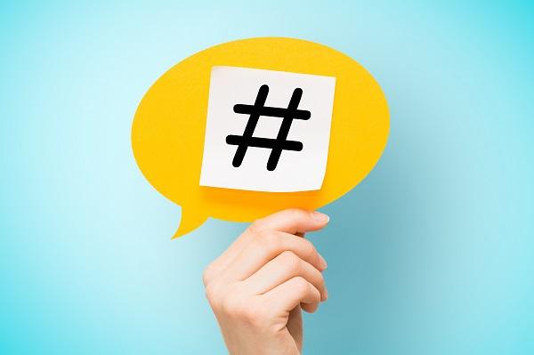 Social media marketing - hashtag